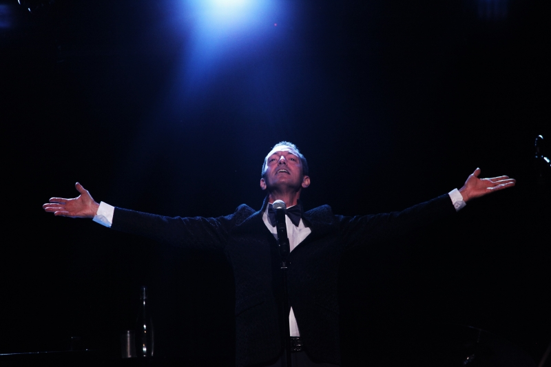 BWW Review: With EXTRA!  EXTRA! At The Triad Scott Raneri Proves He Can Play The Lead
