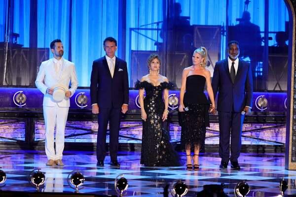 Robbie Fairchild, Brian Stokes Mitchell, Bernadette Peters, Kelli O'Hara, Norm Lewis Photo