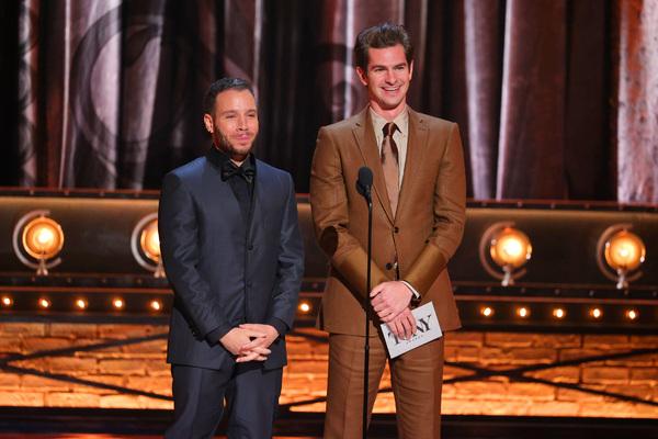 Robin de Jesus and  Andrew Garfield  Photo