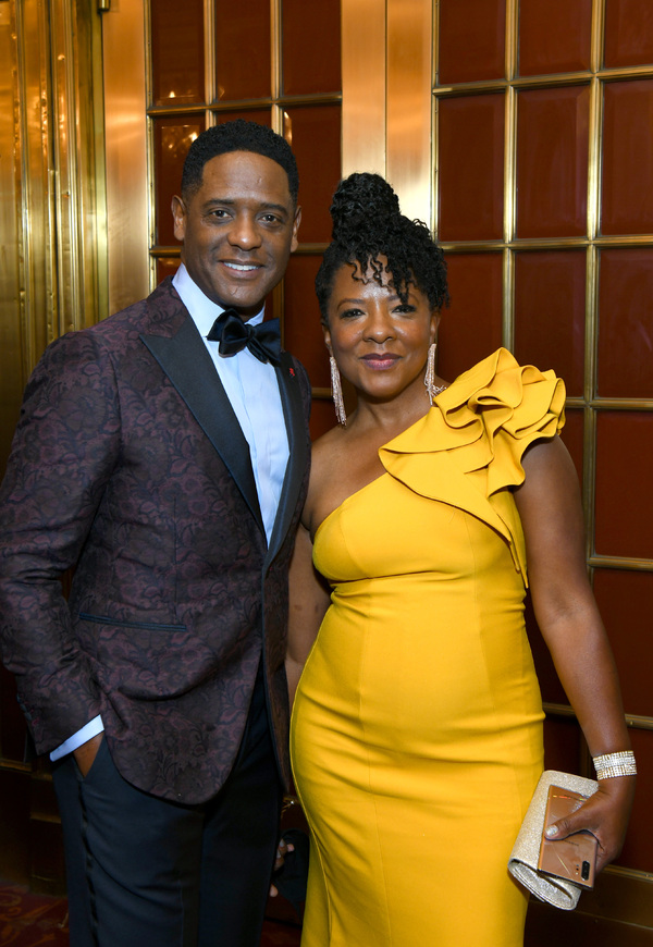 Blair Underwood and sister Photo