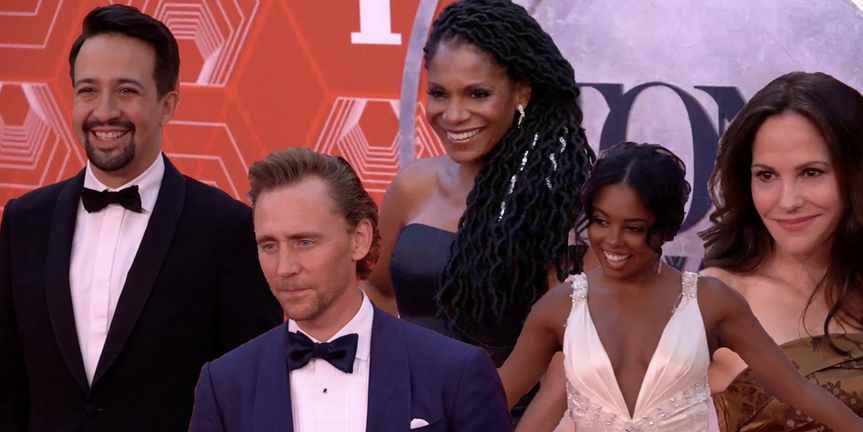 VIDEO: Broadway's Best Walks the Red Carpet at the 2020 Tony Awards! Photo