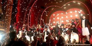 Ten-Time Tony-Winning MOULIN ROUGE! Celebrates a Spectacular Re-Opening Night Video
