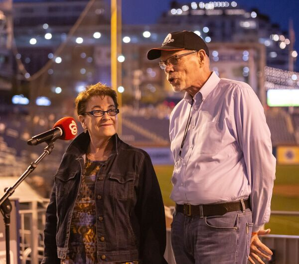 Molly Smith and Edgar Dobie  Photo