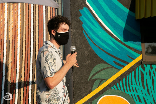 Photos: Arroyo Repertory Theatre Unveils Its New Mural