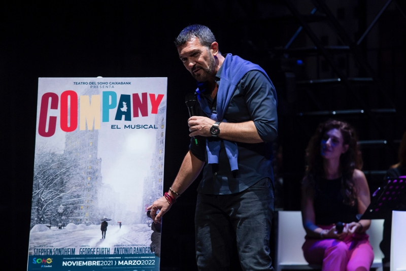 Se desvela el espectacular reparto de COMPANY con Antonio Banderas