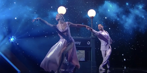 Amanda Kloots in Tribute to Nick Cordero on DWTS Video
