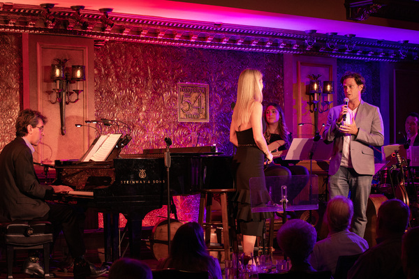 Jason Robert Brown, Kelli O'Hara, Steven Pasquale Photo