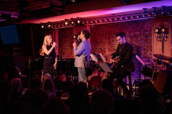 Kelli O'Hara, Steven Pasquale, Justin Goldner Photo