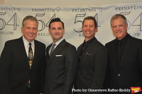 Billy Stritch, Max Von Essen, Daniel Glass and Steve Doyle Photo