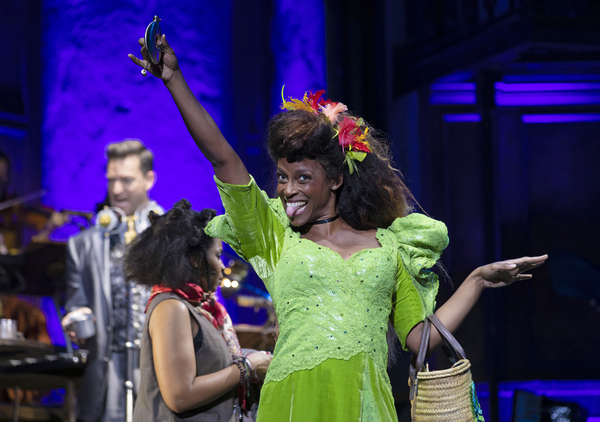 Kimberly Marable and company in the Hadestown North American Tour Photo