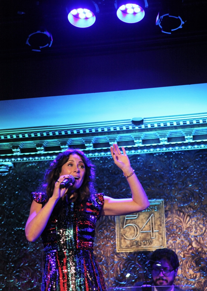 BWW Review: Glamorous Laura Benanti Polishes THE DIAMOND SERIES At Feinstein's/54 Below