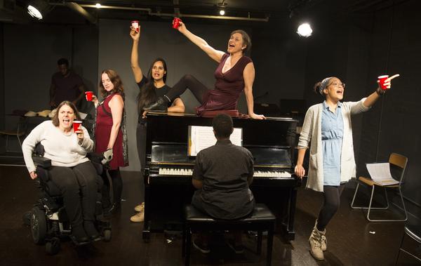 Ann Marie Morelli, Pamela Sabaugh, Fareeda Pyracha Ahmed, Anita Hollander, Ann Flanig Photo