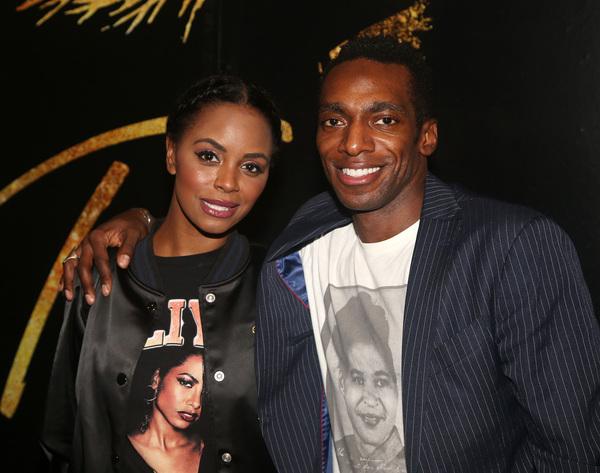 Krystal Joy Brown and Daniel J. Watts  Photo