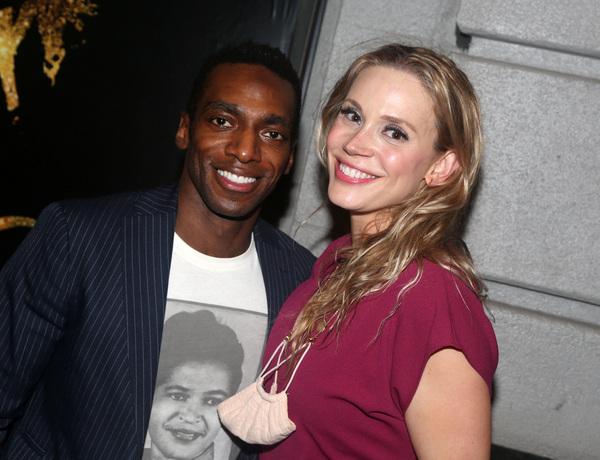 Daniel J. Watts and Jessica Rush  Photo