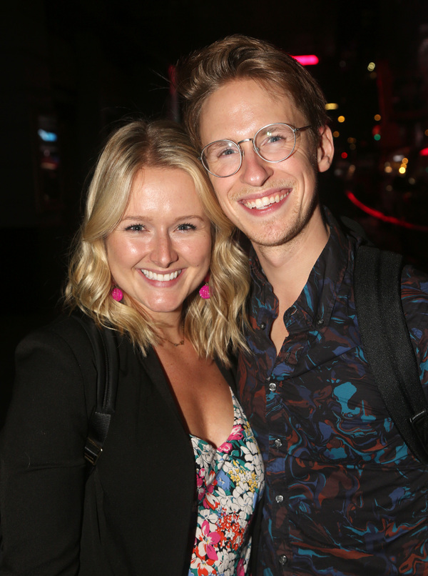 DeLaney Westfall and Charlie Franklin  Photo
