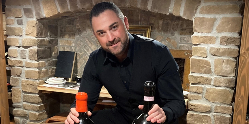 Meet the Sommelier: Michael Scibilia of RED HORSE BY DAVID BURKE in Rumson, NJ Photo