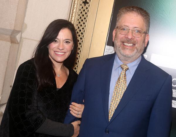 NEW YORK, NEW YORK - OCTOBER 11: Jessica Queller and Bill Prady e) Photo