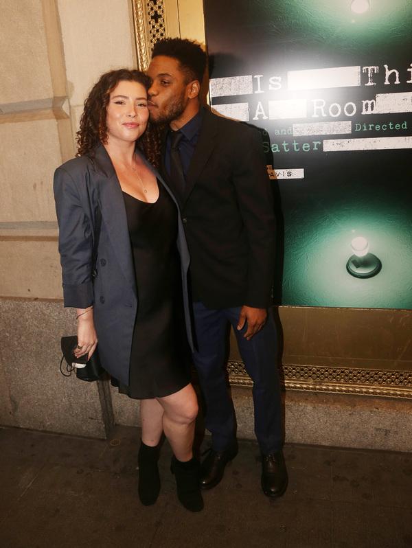 NEW YORK, NEW YORK - OCTOBER 11: Kiah Stern and Jon Michael Hill  Photo