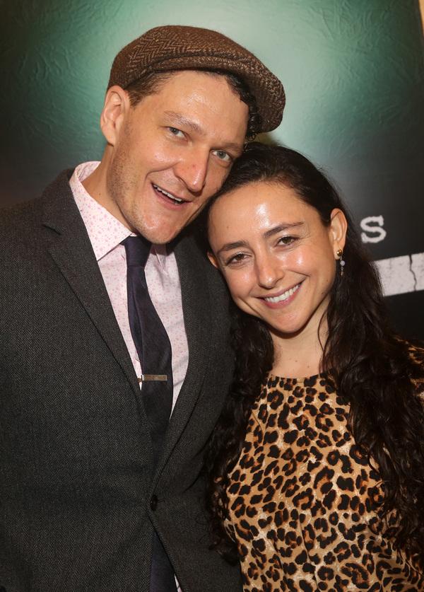 NEW YORK, NEW YORK - OCTOBER 11:  Gabriel Ebert and Danya Taymor  Photo