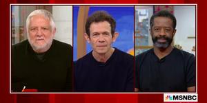 THE LEHMAN TRILOGY Stars Talk Broadway Return on MORNING JOE Video