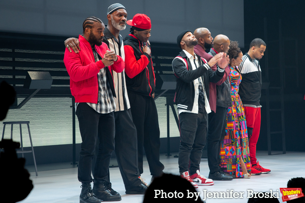 Luke James, Esau Pritchett, Da'Vinchi, Dyllon Burnside, Bryan Terrell Clark, Forrest  Photo