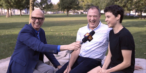 Catching Up with the Stars of THE PROM National Tour- Kaden Kearney & Patrick Wetzel! Video