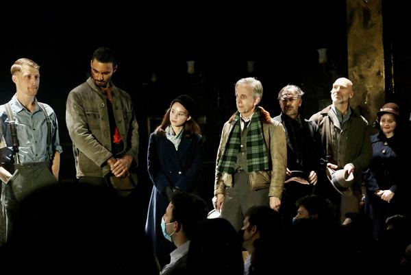 NEW YORK, NEW YORK - OCTOBER 13: (L-R) Colin Bates, Austin Scott, Caitlin Houlahan, R Photo