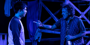 BWW Review: Game on! Cultures Clash in 1-2-3 MANHUNT at Theater for the New City Photo