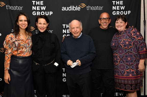 Franki De La Vega, Lili Taylor, Wallace Shawn, Scott  Elliott, and Audible Theater Ar Photo