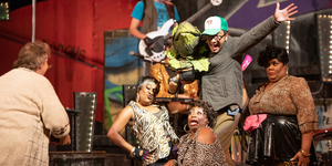 BWW Review: LITTLE SHOP OF HORRORS Puts You Face To Face With A Space Plant And Your Own M Photo