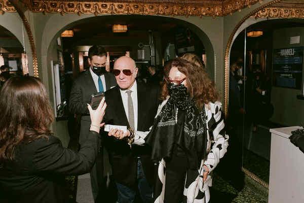 Barry Diller, Diane Von Furstenberg Photo
