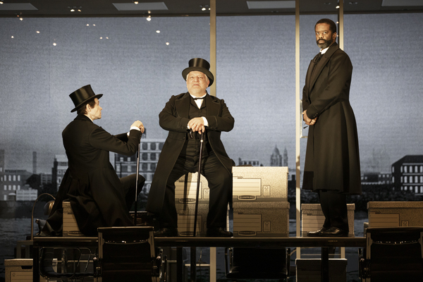 Adam Godley, Simon Russell Beale and Adrian Lester Photo