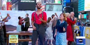 Cast of GIRL FROM THE NORTH COUNTRY Performs on GMA Video