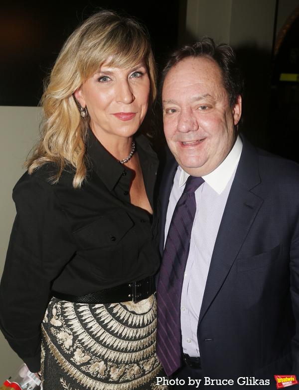Margo MacNabb Nederlander and James Nederlander  Photo