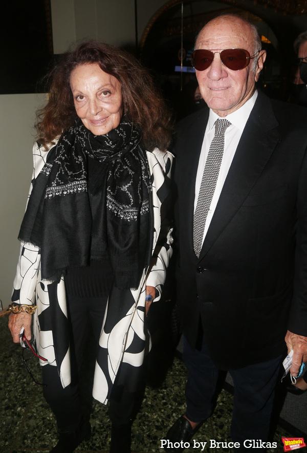Diane von Furstenberg and Barry Diller Photo