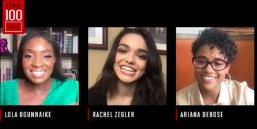 VIDEO: Watch Rachel Zegler & Ariana DeBose Talk WEST SIDE STORY With TIME 100 TALKS Photo