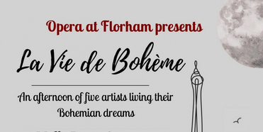Opera At Florham Presents LA VIE BOHEME An Afternoon Of Five Artists Living Their Bohemian Photo
