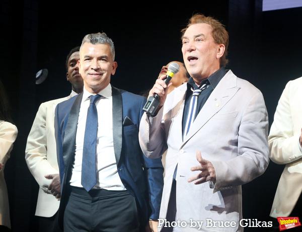 Sergio Trujillo and Des McAnuff  Photo