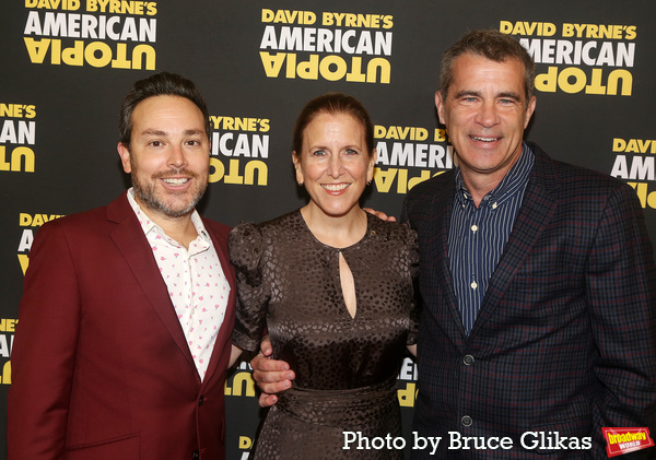 Producers Patrick Catullo, Kristin Caskey and Mike Isaacson Photo