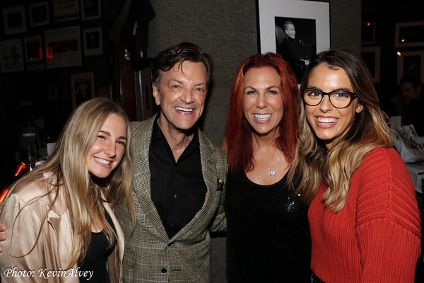 Erin Kinsey, Jim Caruso, Victoria Shaw, Ruby Locknar Photo