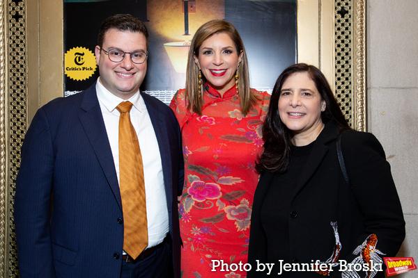 Matt Ross, Sally Horchow, Dori Berinstein Photo