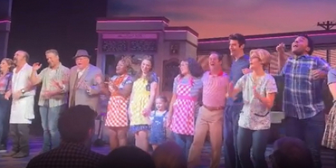 Video: Sara Bareilles and Christopher Fitzgerald Take Their Final Bows in WAITRESS on Broa Photo