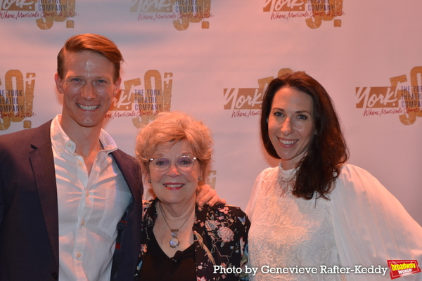 Jeff Kready, Anita Gillette and Poppy Goodeve Photo
