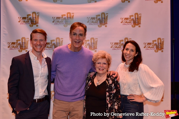 Jeff Kready, Howard McGillin, Anita Gillette and Poppy Goodeve Photo