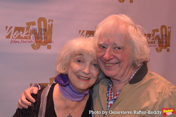 Mimi Turque and Austin Pendleton Photo