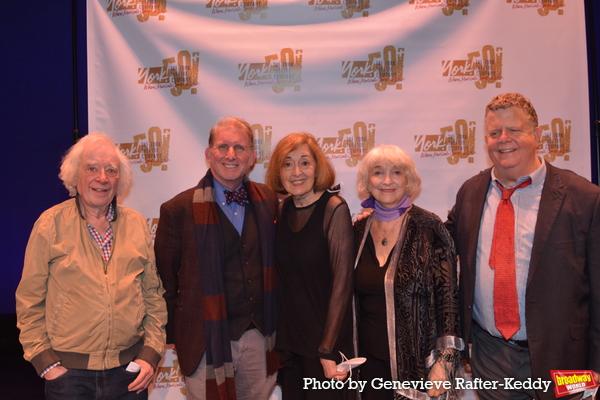Austin Pendleton, Evans Haile (Executive Director), Nancy Ford, Mimi Turque and James Photo