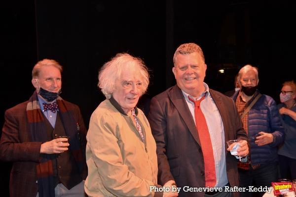 Evans Haile, Austin Pendleton and James Morgan Photo