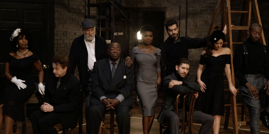 VIDEO: LaChanze & the Company of TROUBLE IN MIND Get Ready for Broadway Photo