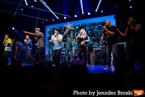 Chris Sullivan, Aneesa Folds, Andrew Bancroft, Lin-Manuel Miranda, Anthony Veneziale, Photo