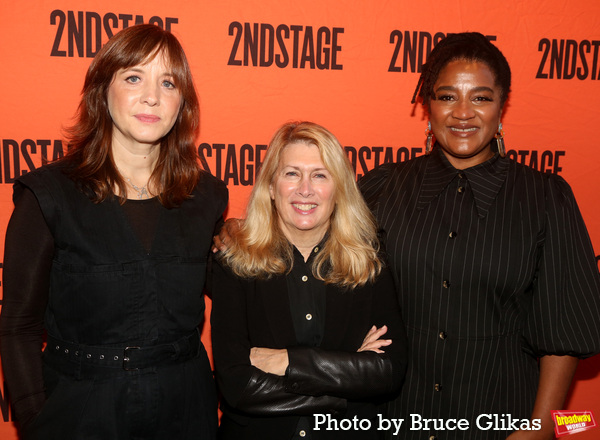 Director Kate Whoriskey, Second Stage President & Artistic Director Carole Rothman an Photo